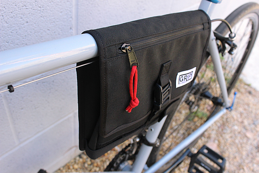 Daily Kit Black | Grip Unlimited Bags | Your Daily Bike Bag