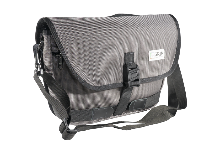 Frame Bag Grey Grip Unlimited Bags Bike Bicycle Messenger