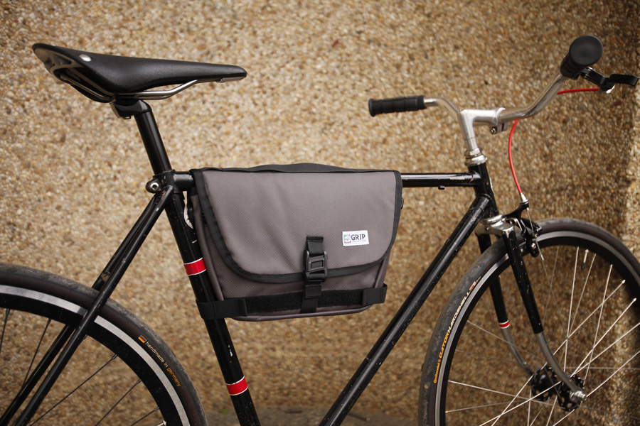 Frame Bag Grey | Grip Unlimited Bags | The Original