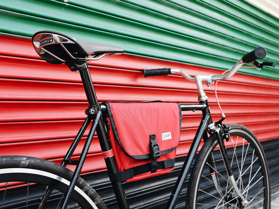 Frame Bag Red | Grip Unlimited Bags | The Original